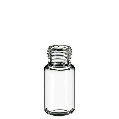 Germany made 10ml ND18 Headspace Screw Vial (clear), 46 x 22.5mm, pk.100