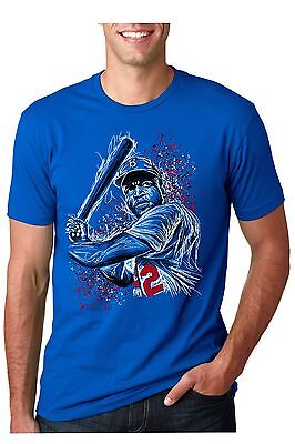 "Jackie Robinson ""42"" T-Shirt - Baseball - Brooklyn Dodgers"