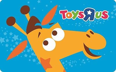 "Toys""R""Us Gift Card $25 $50 or $100 - Email delivery"