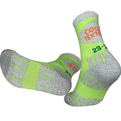 3 Pairs Womens Double Cushion Quick-Dry Outdoor Trekking Hiking Socks Cool-Tex