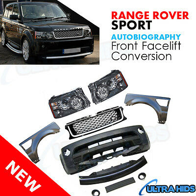 Range Rover Sport AUTOBIOGRAPHY FRONT FACELIFT Conversion Headlamps 2005 - 2009