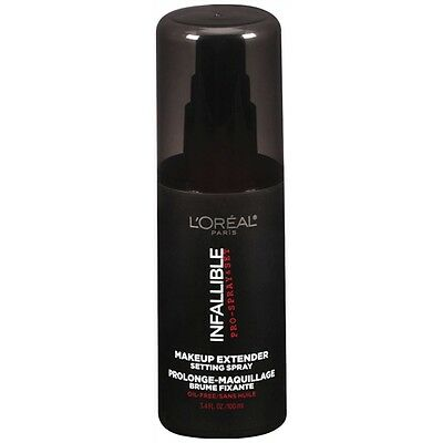 L'OREAL INFALLIBLE PRO SPRAY & SET MAKEUP EXTENDER SETTING SPRAY 100ml NEW SEAL