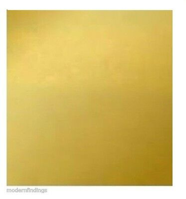 Brass Sheet Metal 18 Ga (20 Variations Sizes to Choose ) CRAFT ,HOBBY, jEWELRY