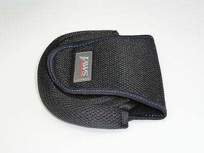 """2 Jaws """"M"""" Spinning Reel Cover Pouch for Daiwa Certate, Shimano Twinpower Reels"""