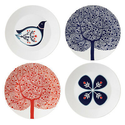 NEW Royal Doulton Fable Accent Plates 22cm - Set Of 4