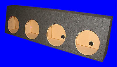 "Dodge Ram Regular Cab 4 Four Hole 10"" Grey Subwoofer Sub Enclosure Box"
