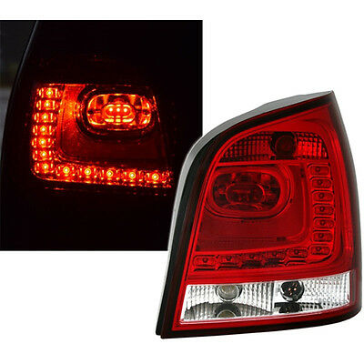 Feux Arrieres Ar Led Look Polo 6R Vw Polo 9N3 2005-2009 Carat Confort Design