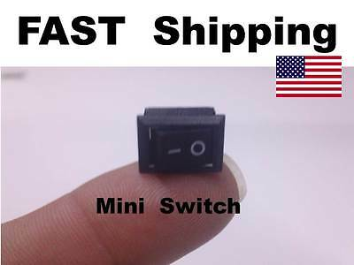 1x - Mini Small Switch -  250V AC 3A ---- 125V AC 6A ---- On Off Replacement NEW