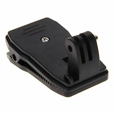 360°Rotary Quick Release Backpack Hat Clip Clamp Mount for GoPro Hero BT Great
