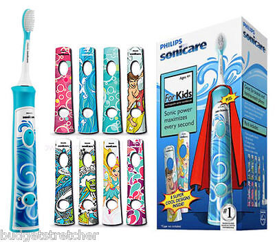 NEW PHILIPS HX6311/07  Sonicare For Kids Rechargeable sonic electric toothbrush