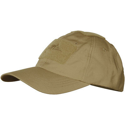 Helikon Mens Baseball Cap Polycotton Ripstop Military Patrol Hat Coyote