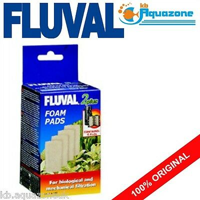 Fluval * 2 Plus Foam * Replacement * Insert * 2 Pack * Original Pad