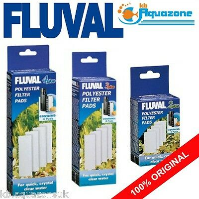 Fluval * 2 3 4 Plus Polyester * Replacement * Insert * Original Pad Variations