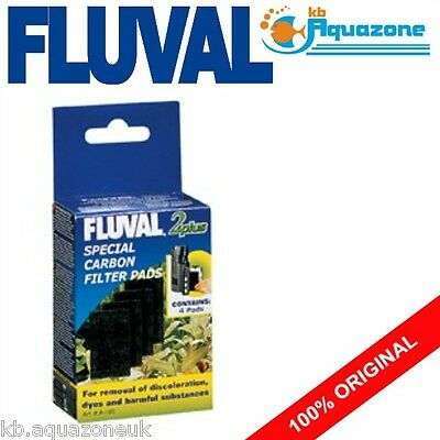 FLUVAL * 2 PLUS SPECIAL CARBON * REPLACEMENT * INSERT * PAD * 2 pack * original
