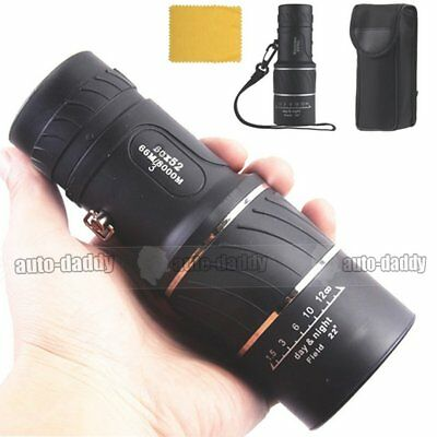 Day & Night Vision 30x52 HD Optical Monocular Hunting Camping Hiking Telescope
