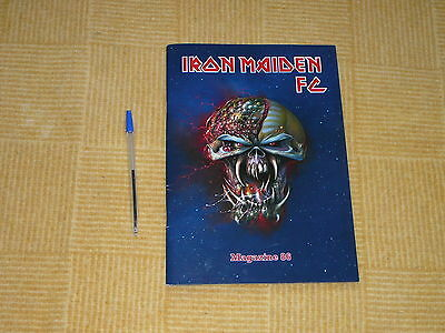 Iron Maiden Official Fan Club Magazine 86 Free Uk Post