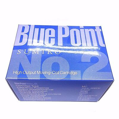 Sumiko Blue Point No. 2 High Output MC Cartridge, Made in Japan.