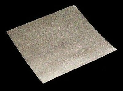 """(10 Count) 4""""x4""""- 50 Micron Mesh Screens-Stainless Value Pack SS sheets #104"""