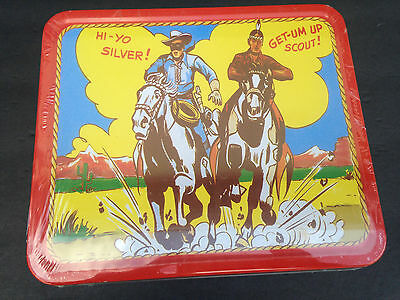 Vintage Lone Ranger Tonto Silver Scout 1995 Lunch Pail