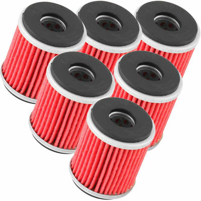 K&N NEW Yamaha YZ250F YZ450F YZF-X WRF 250 450 2009-2017 Oil Filter BULK 6 Pack