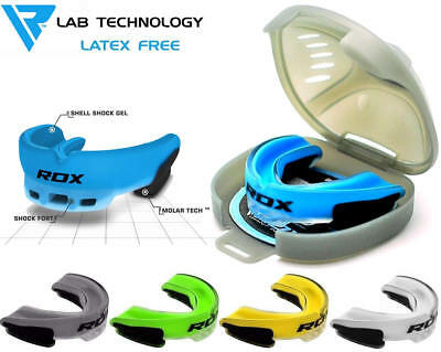 RDX Mouth Guard Sport Teeth Gum Shield Case MMA Boxing Protector Mouthguard Kids