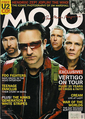 Mojo Magazine July 2005 No 140 Foo Fighters The Kinks Generation X White Stripes