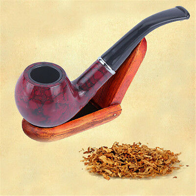 Newest Marbling Rosewood Tobacco Cigarette Cigar Pipes Smoking Pipe Durable Gift