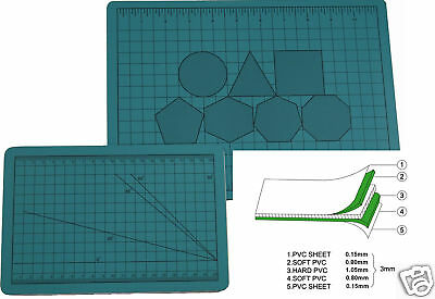 A1 Cutting Mat A-Grade Self Healing (DOUBLE SIDED) Professional qlty (90cmx60cm)