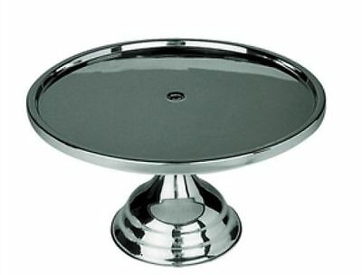 """Stainless Steel Cake Stand 30cm/12"""" cakes/pastries"""