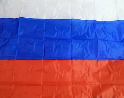 Russia Window Flag 5ft x 3ft Large Country Banner Supporters Fan Russian #17E135