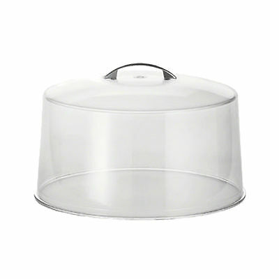 Cake Stand Cover Plastic with Metal Handle 30cm/12""