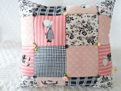 Patchwork Quilting Kit Holly Hobbie Cushion Easy Patchwork Kit Beginners Sewing