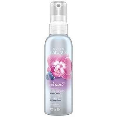 Avon Naturals Vibrant Orchid & Blueberry Scented Spritz, 100ml