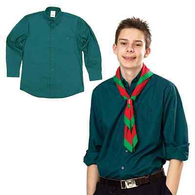 Official Scout Shirt Uniform Smart Blouse Long Sleeve All Sizes Free Delivery