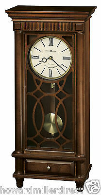 Howard Miller 635-170 Lorna - Chiming Mantel Clock with Drawer