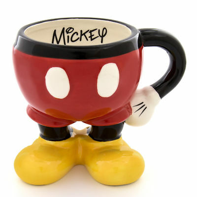 Disney Mickey Mouse Coffee Mug Cup Glass Ceramic Authentic Disney Collection