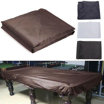 8FT Fitted Billiard Pool Snooker Table Oxford Cloth Cover with Elastic Corners