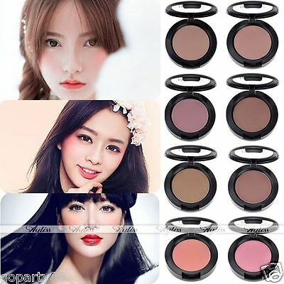Hot Professional Women Beauty Makeup Cosmetic Blush Blusher Pressed Powder