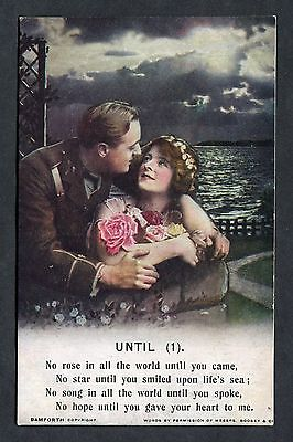 "C1915 Bamforth Song Card ""Until"" (1)"