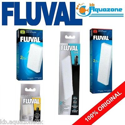 Fluval * U1 U2 U3 U4 Foam Pad * Underwater Filter Replacement
