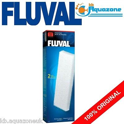 Fluval * U3 Foam Pad * Underwater Filter Replacement Original