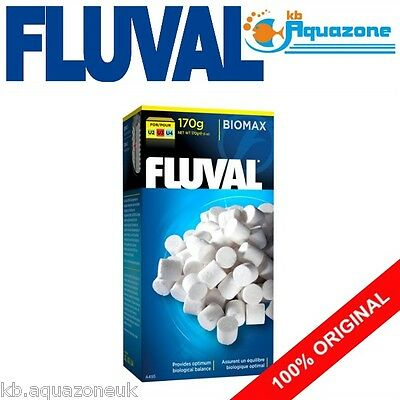 FLUVAL * U2 U3 U4 FILTER BIOMAX 170g  * UNDERWATER FILTER REPLACEMENT *