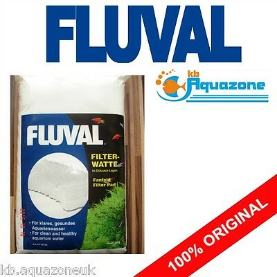 FLUVAL * FILTER PAD GENUINE COTTON * 100g 200g * ORIGINAL * watte