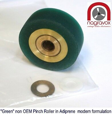 Revox GREEN Pinch Roller Kit for  B77, PR99,  C270 - non OEM