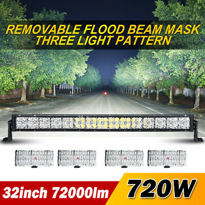 "2x 4""inch 30W OSRAM LED Work Light Bar Spot Offroad Truck Driving Motorcycle 18w"