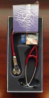 3M Littmann 3200 Electronic Stethoscope BURGUNDY #3200BU Bluetooth/Software NEW