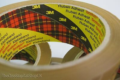Brown Buff Packing Packing Tape Scotch 3M 30 Pack x 66m