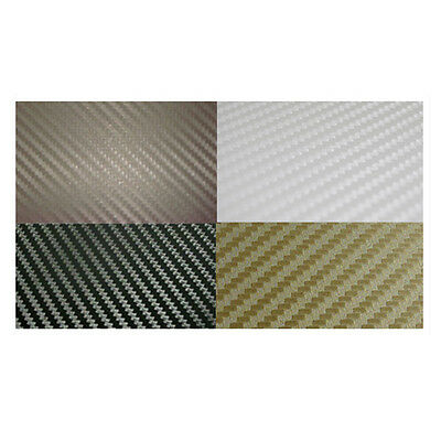 3D Bubble Free Carbon Fibre Vinyl Sheet Car Wrap Various Colours Available