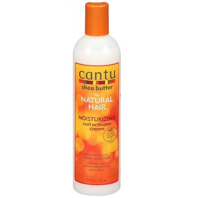 Cantu Shea butter Natural Hair Moisturizing Curl Activator Cream 12oz