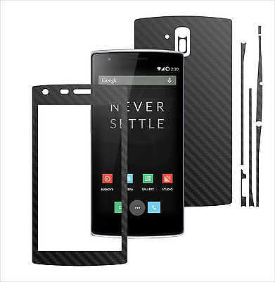 3D Carbon Skin,Full Body Protector for Case,Vinyl Wrap For OnePlus One